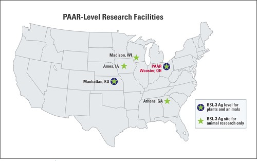 PAAR Level Facilities Map